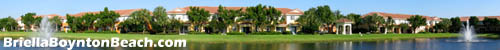 Many owners of Briella homes look out to a lake view much like this one.